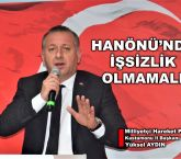 HANÖNÜ'NDE İŞSİZLİK OLMASIN