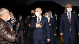 Ulaştırma ve Altyapı Bakanı Adil Karaismailoğlu İnebolu'yu ziyaret etti