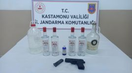JANDARMA'DAN SAHTE ALKOL İMALATINA VE SATIŞINA OPERASYON